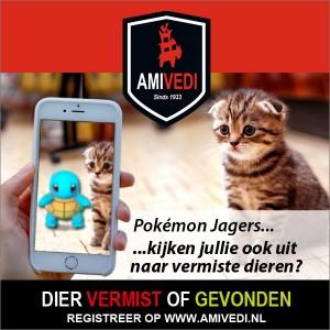 Oproep aan Pokémon Go spelers